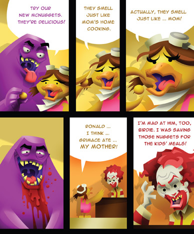 McCruelty Comic