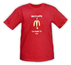 McCruelty: 'I'm hatin' it' Standard T-Shirt